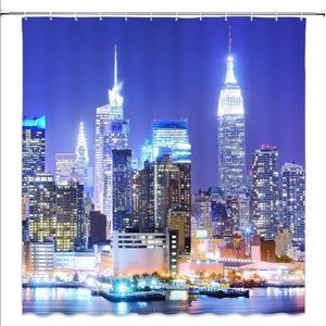 Other - Big City America Shower Curtain